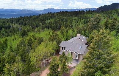Conifer Single Family Home Under Contract: 11273 Conifer Mountain Road