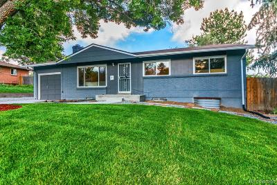 Denver Single Family Home Active: 2778 South Quitman Street