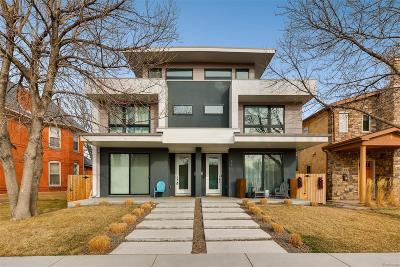 Denver Condo/Townhouse Under Contract: 3612 Wyandot Street