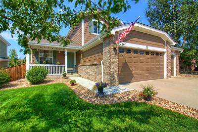 Erie Single Family Home Active: 2201 Indian Paintbrush Way