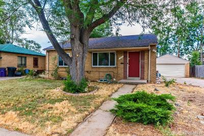 Denver Single Family Home Under Contract: 1568 South Lowell Boulevard