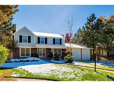 Littleton Single Family Home Under Contract: 5376 South Field Court