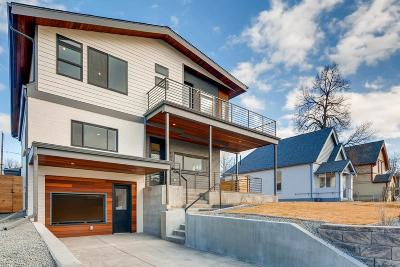 Denver Single Family Home Under Contract: 4536 Irving Street