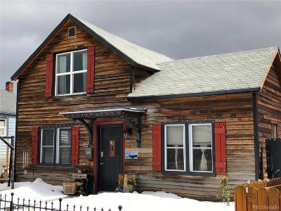 Leadville Single Family Home Under Contract: 229 West 6th Street