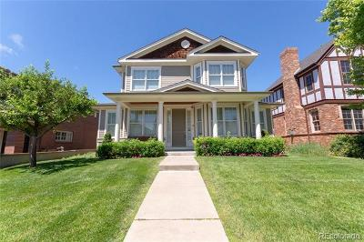 Denver Single Family Home Active: 1275 South Fillmore Street