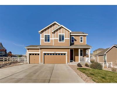 Castle Rock Single Family Home Under Contract: 5579 Spring Ridge Trail