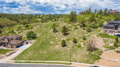 Castle Rock Residential Lots & Land Active: 2067 Lost Canyon Ranch Court