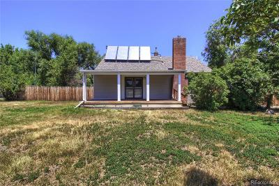 Single Family Home Sold: 11645 West 12th Avenue