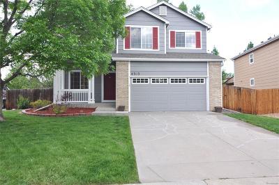 Castle Rock Single Family Home Active: 4313 East Bennington Avenue