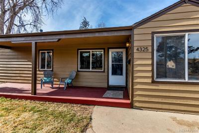 Wheat Ridge Single Family Home Under Contract: 4325 Gray Street