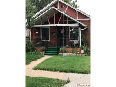 Denver Single Family Home Active: 3121 West 28th Avenue