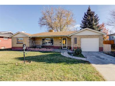Wheat Ridge Single Family Home Active: 4340 Pierce Street