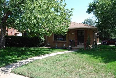 Arvada Single Family Home Active: 6100 Brentwood Street