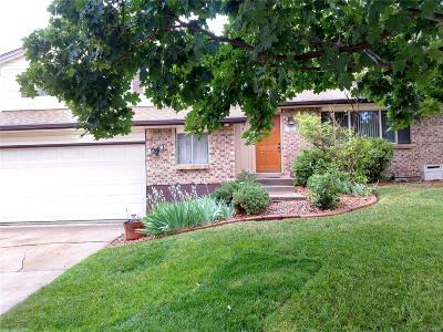 Aurora CO Single Family Home Active: $349,900