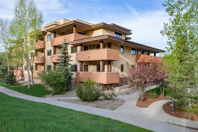 Steamboat Springs Condo/Townhouse Active: 2780 Eagleridge Drive #207