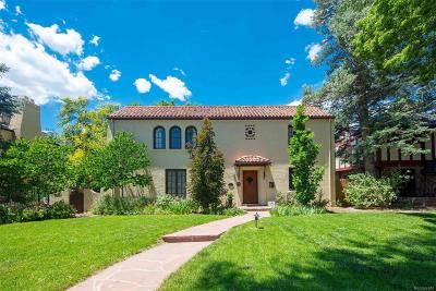Denver Single Family Home Under Contract: 361 Race Street