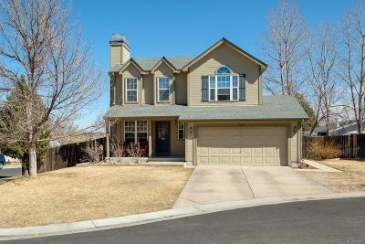 Parker Single Family Home Under Contract: 8663 Red Clover Court