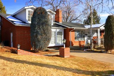 Denver Single Family Home Under Contract: 3240 South Mabry Way