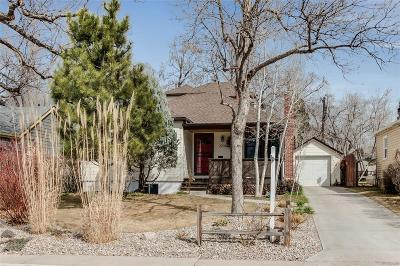 Denver CO Single Family Home Active: $639,900