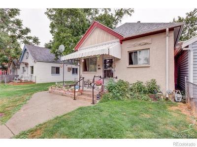 Baker, Baker/Santa Fe, Broadway Terrace, Byers, Santa Fe Arts District Single Family Home Active: 335 Delaware Street