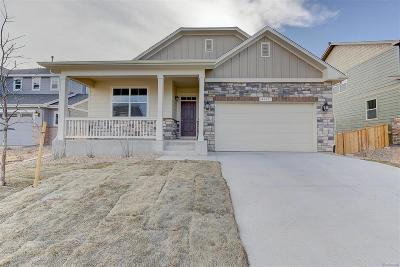 Castle Rock Single Family Home Active: 4365 Sidewinder Loop
