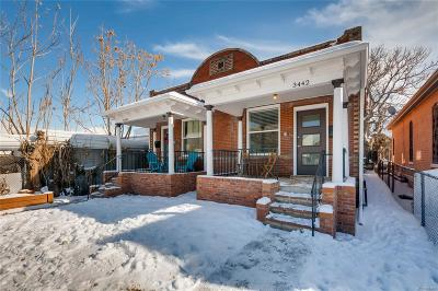Condo/Townhouse Under Contract: 3442 Lawrence Street