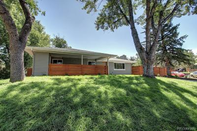 Boulder Single Family Home Under Contract: 4269 Graham Court