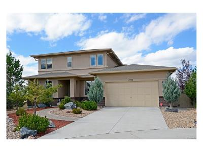Castle Rock Single Family Home Under Contract: 4308 Manorbrier Circle