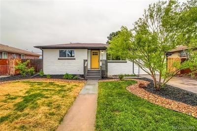 Lakewood Single Family Home Active: 1414 South Benton Street
