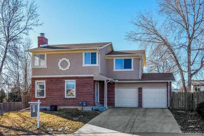 Littleton Single Family Home Active: 9560 West Fairview Avenue
