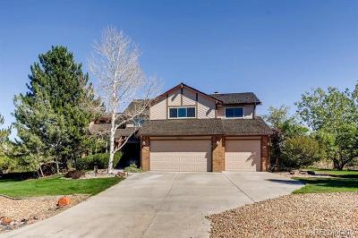 Centennial Single Family Home Active: 6960 South Chapparal Circle