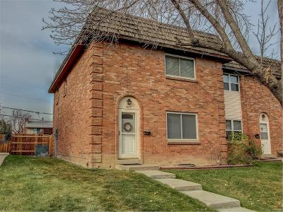 Denver Condo/Townhouse Active: 4437 South Lowell Boulevard