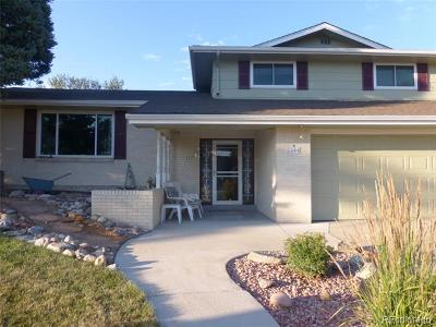 Arvada Single Family Home Active: 8344 West 71st Avenue