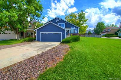 Highlands Ranch Single Family Home Under Contract: 891 Thames Street
