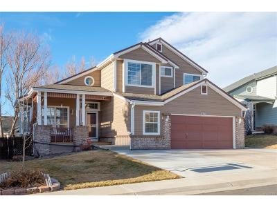 Castle Rock Single Family Home Under Contract: 2341 Beacham Drive