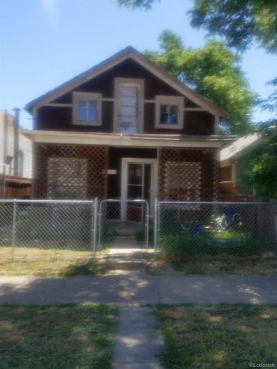 Denver Single Family Home Under Contract: 4736 Vine Street