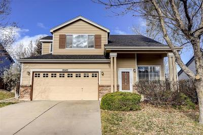 Centennial Single Family Home Under Contract: 20165 East Belleview Lane
