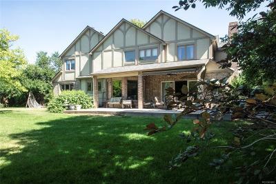 Littleton Single Family Home Active: 4364 West Aberdeen Avenue