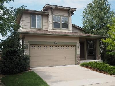 Highlands Ranch Single Family Home Active: 10746 Towerbridge Circle
