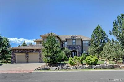 Castle Rock Single Family Home Active: 6205 Oxford Peak Lane