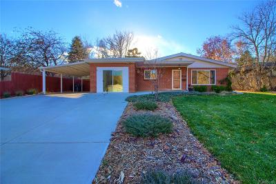 Golden Single Family Home Under Contract: 2312 Arapahoe Street