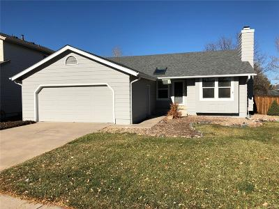 Highlands Ranch Single Family Home Under Contract: 8901 South Coyote Street
