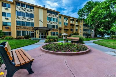 Denver Condo/Townhouse Active: 9625 East Center Avenue #7A