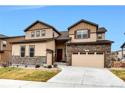 Castle Rock Single Family Home Active: 450 Sage Grouse Circle