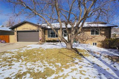Lakewood CO Single Family Home Under Contract: $545,000