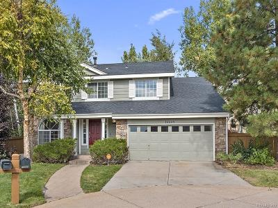 Centennial Single Family Home Active: 16689 East Hialeah Avenue