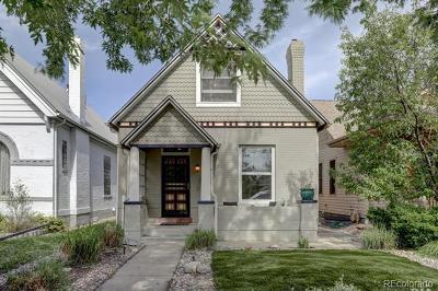 Denver Single Family Home Active: 736 South Clarkson Street