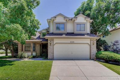 Arapahoe County Single Family Home Active: 6468 South Forest Street