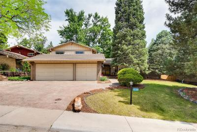 Centennial Single Family Home Under Contract: 6538 South Oneida Court