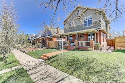 Denver Single Family Home Under Contract: 3864 Osceola Street